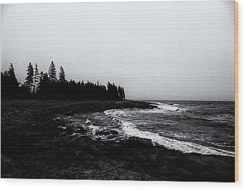Coastal Scene 11 Wood Print