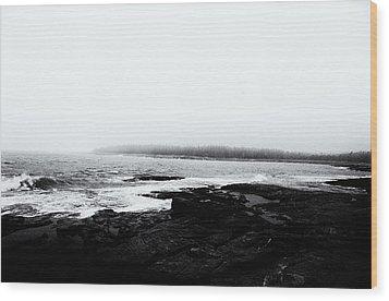 Coastal Scene 13 Wood Print