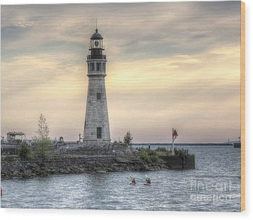 Coastguard Lighthouse Wood Print