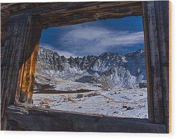Colorado Mayflower Gulch Wood Print by Michael J Bauer