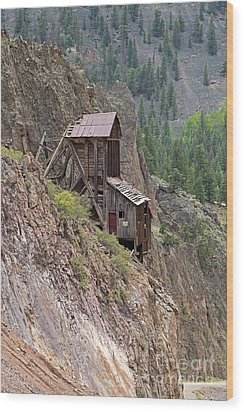 Commodore Mine On The Bachelor Historic Tour Wood Print