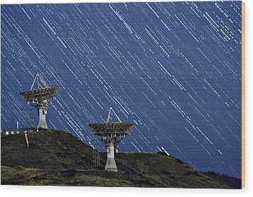 Communications To The Stars Wood Print by James BO  Insogna