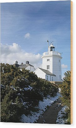 Cromer Lighthouse Wood Print by Paul Lilley