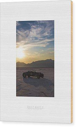 Custom Salt Wood Print by Holly Martin