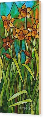 Daffodil Day Wood Print by David Kennedy