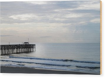 Wood Print featuring the photograph Daybreak At Pawleys Island by Frank Bright