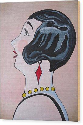 Deco Diva Wood Print