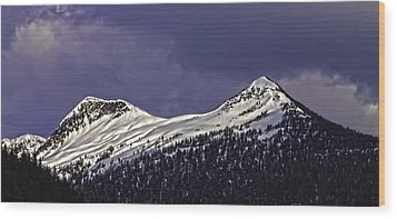 Deer Mountain C009 Wood Print