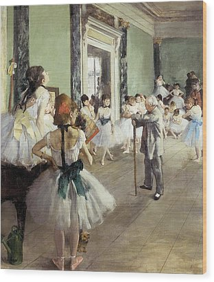 Degas, Edgar 1834-1917. The Dancing Wood Print by Everett