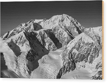 Denali - Mount Mckinley Wood Print by Alasdair Turner