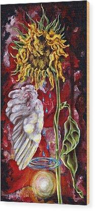 Despair And Hope Wood Print by Hiroko Sakai