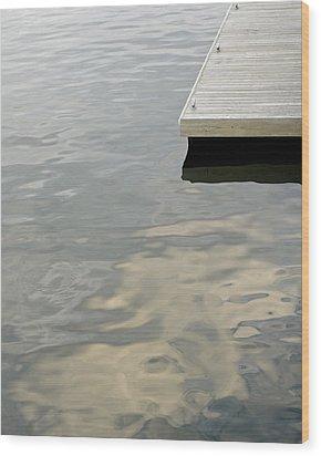 Dock Wood Print