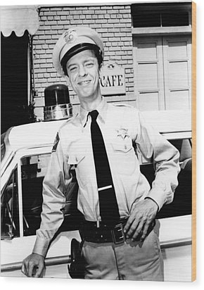 Don Knotts In The Andy Griffith Show  Wood Print