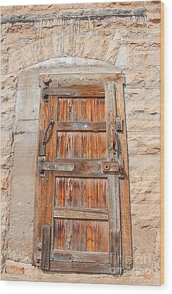 Door Series 1 Wood Print