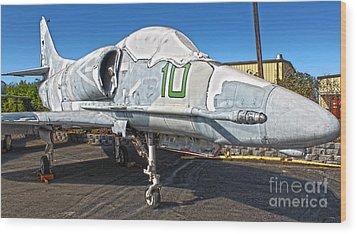 Douglas Skyhawk A-4f Wood Print by Gregory Dyer