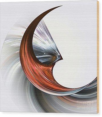 Drive Wood Print by Diuno Ashlee