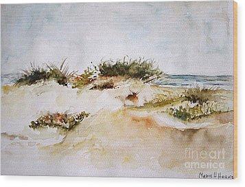 Dunes I Wood Print