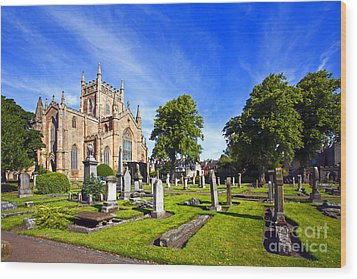 Dunfermline Abbey Scotland Wood Print