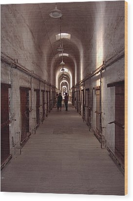 Eastern State Penitentiary Wood Print