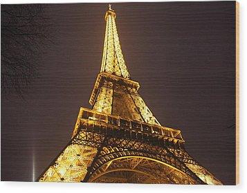 Eiffel Tower - Paris France - 011315 Wood Print by DC Photographer