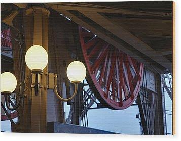 Eiffel Tower - Paris France - 01139 Wood Print by DC Photographer