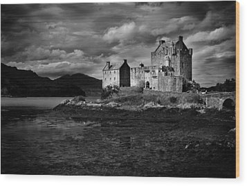 Wood Print featuring the photograph Eilean Donan by Bud Simpson