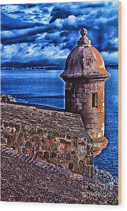 El Morro Fortress Wood Print by Thomas R Fletcher