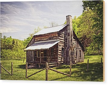 Erbie Homestead Wood Print by Marty Koch