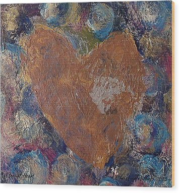 Eternal Heart Wood Print