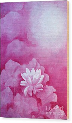 Fantasy Lotus Wood Print