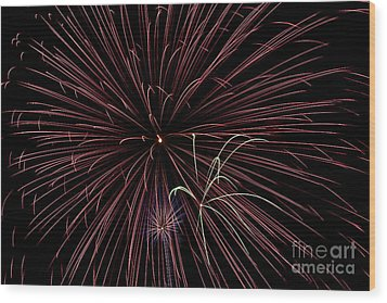 Fireworks Wood Print by Jason Meyer