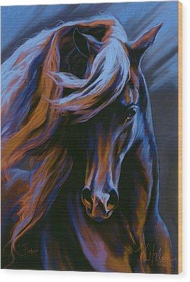 Flamenco Wood Print