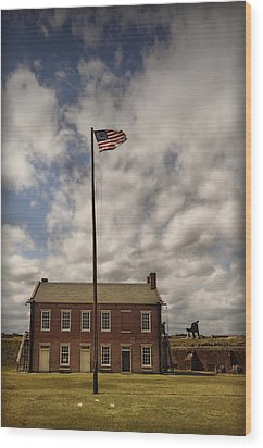 Fort Clinch Wood Print by Mario Celzner