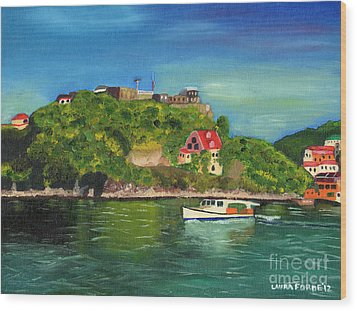 Fort George Grenada Wood Print