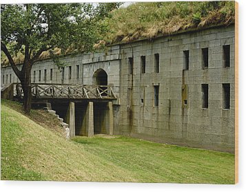 Fort Warren George's Island Wood Print by Gail Maloney
