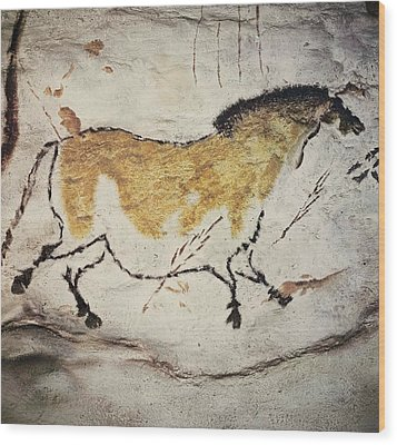France. Montignac. The Cave Of Lascaux Wood Print by Everett