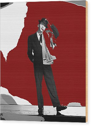 Frank Sinatra Pal Joey Publicity Photo 1957-2014 Wood Print by David Lee Guss