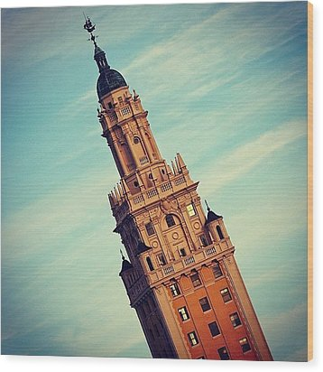 Freedom Tower - Miami Wood Print