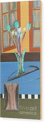 Fresh Flowers Wood Print by Bill OConnor