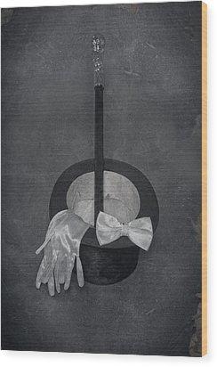 Gentleman Wood Print by Joana Kruse