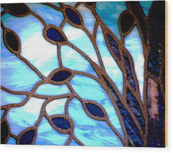 Gettysburg College Chapel Window Wood Print