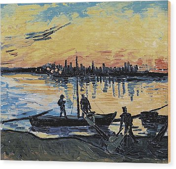 Gogh, Vincent Van 1853-1890. The Wood Print by Everett