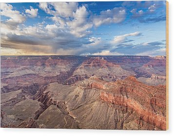 Grand Canyon Scenery Wood Print by Pierre Leclerc Photography
