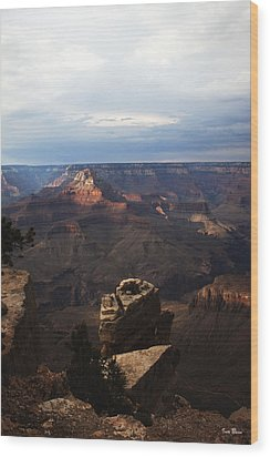 Grand Canyon View Wood Print