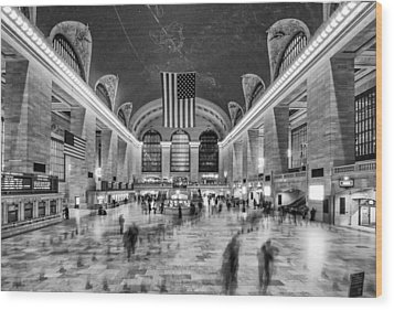Grand Central Terminal Wood Print