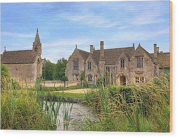 Great Chalfield Manor Wood Print by Joana Kruse