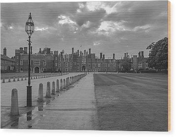 Hampton Court Wood Print