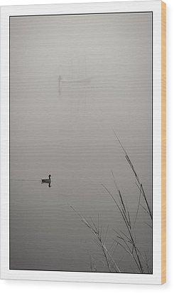 Harbor Fog No.2 Wood Print