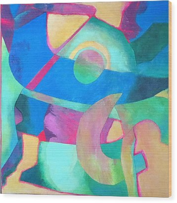 Harmony In G Wood Print by Diane Fine