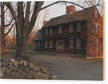 Hartwell Tavern 2 Wood Print by Jeff Heimlich